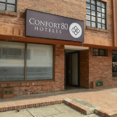 Hotel confort80 castellana Bogotá